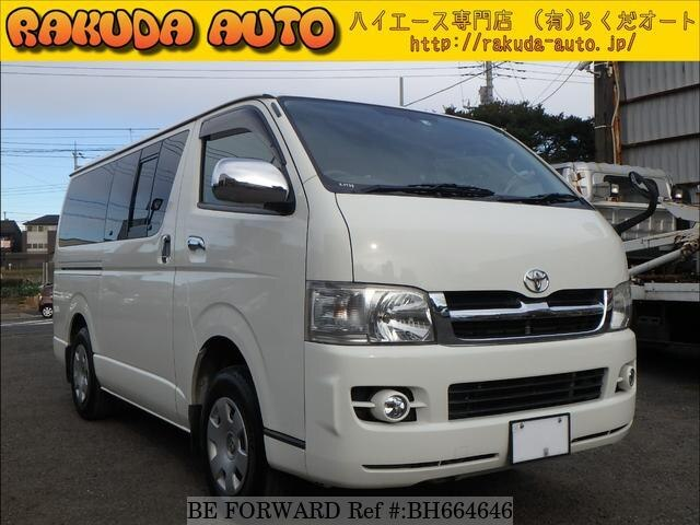 Used 2007 TOYOTA HIACE VAN BH664646 for Sale