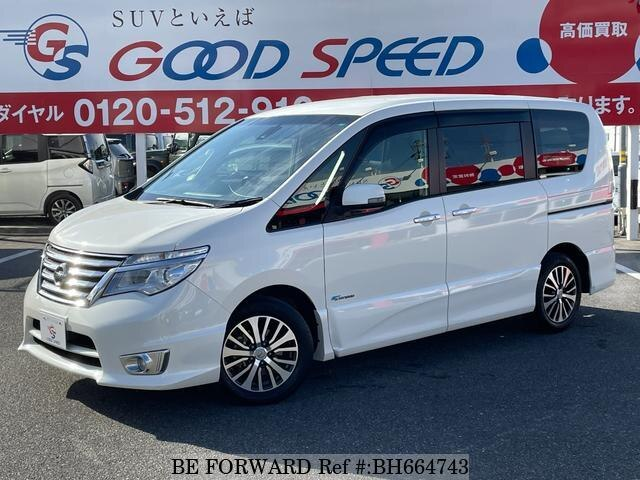 Used 2014 NISSAN SERENA BH664743 for Sale