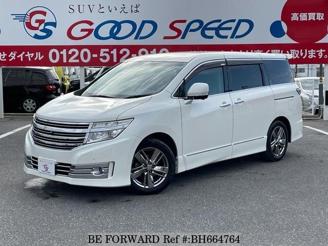 Used 2012 NISSAN ELGRAND BH664764 for Sale