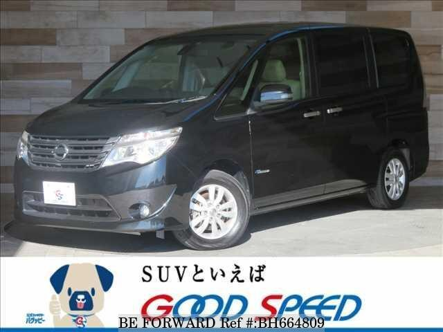 Used 2014 NISSAN SERENA BH664809 for Sale