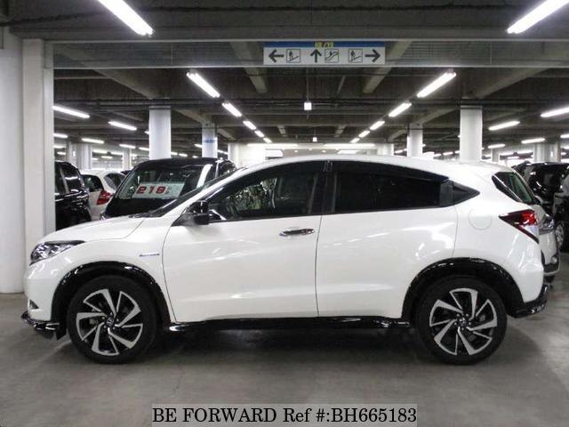 Used 2017 HONDA VEZEL BH665183 for Sale
