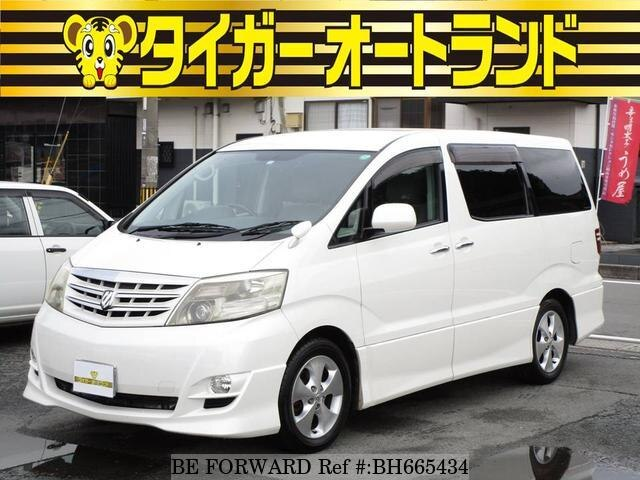 Used 2006 TOYOTA ALPHARD BH665434 for Sale
