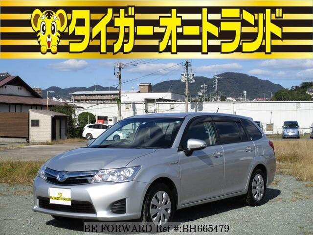 Used 2014 TOYOTA COROLLA FIELDER BH665479 for Sale