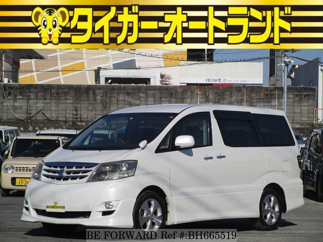 Used 2008 TOYOTA ALPHARD BH665519 for Sale