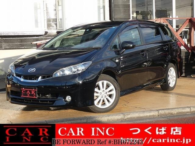 Used 2011 TOYOTA WISH BH672243 for Sale
