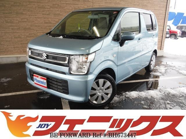 Used 2019 SUZUKI WAGON R BH673447 for Sale