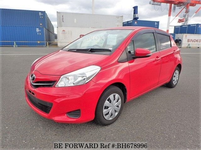 Used 2012 TOYOTA VITZ BH678996 for Sale