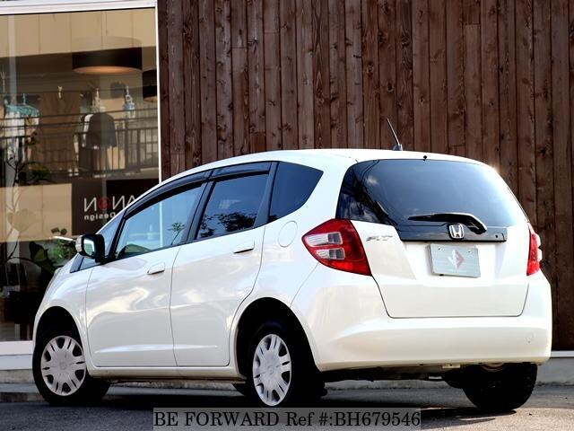 Used 2010 HONDA FIT BH679546 for Sale
