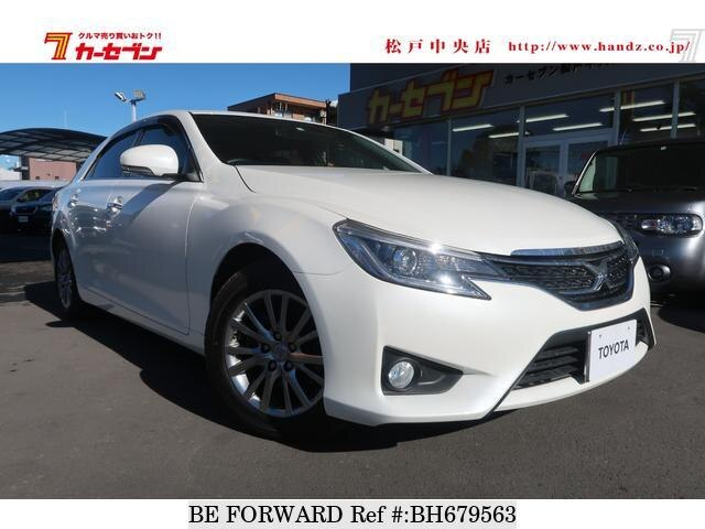 Used 2014 TOYOTA MARK X BH679563 for Sale