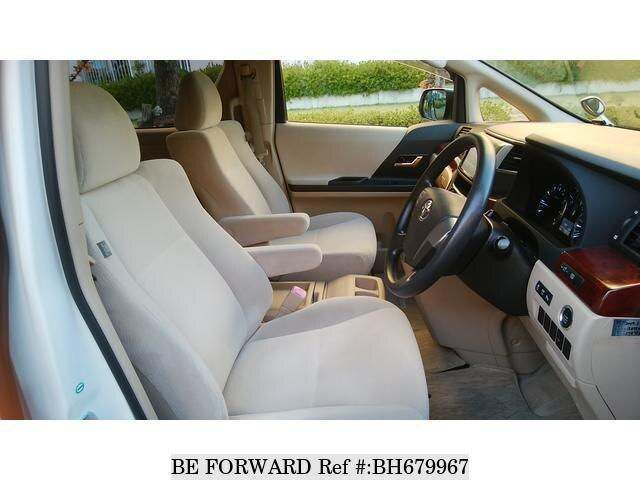 Used 2010 TOYOTA VELLFIRE BH679967 for Sale