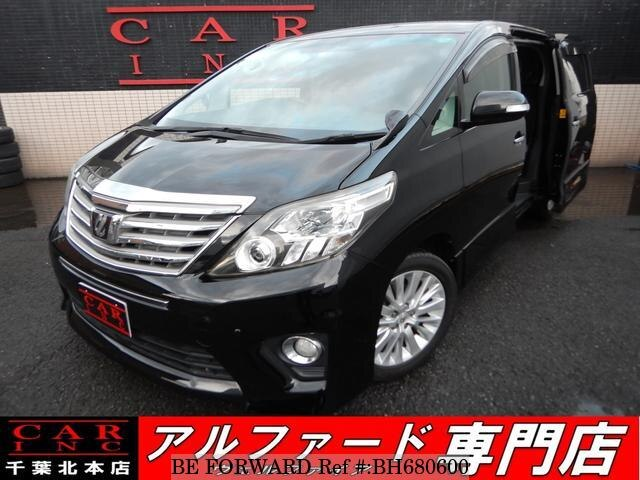 Used 2012 TOYOTA ALPHARD BH680600 for Sale