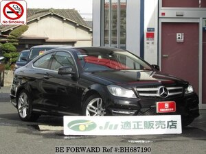Used 2012 MERCEDES-BENZ C-CLASS BH687190 for Sale