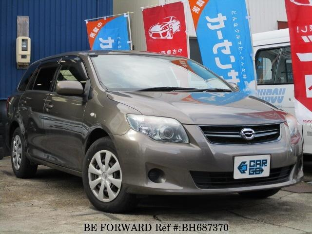 Used 2009 TOYOTA COROLLA FIELDER BH687370 for Sale