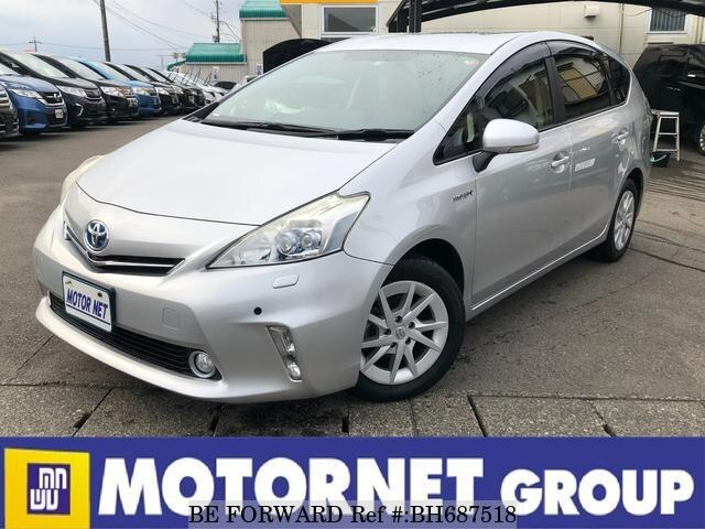 Used 2011 TOYOTA PRIUS ALPHA BH687518 for Sale