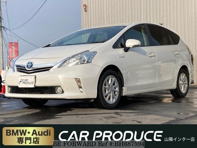 Used 2011 TOYOTA PRIUS ALPHA BH687594 for Sale