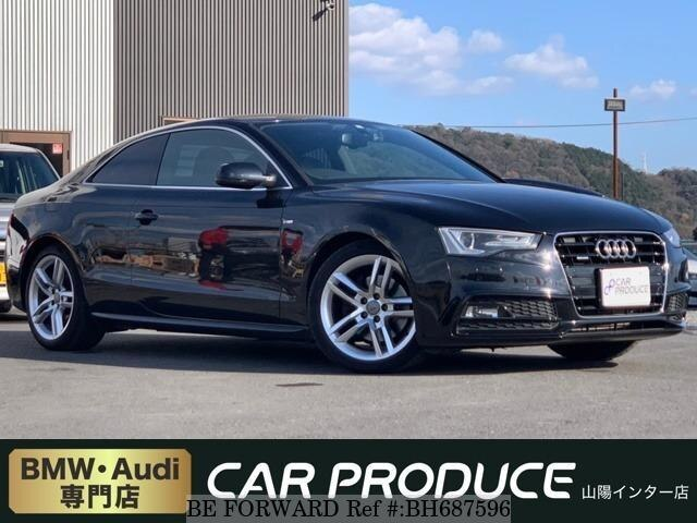 Used 2012 AUDI A5 BH687596 for Sale