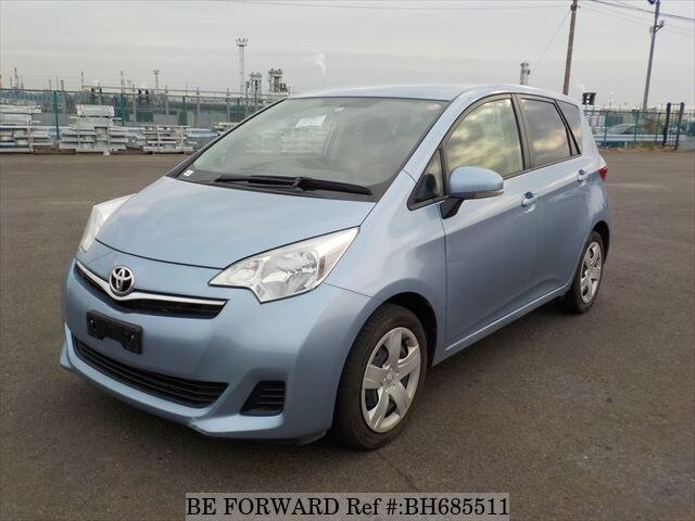 Used 2012 TOYOTA RACTIS BH685511 for Sale
