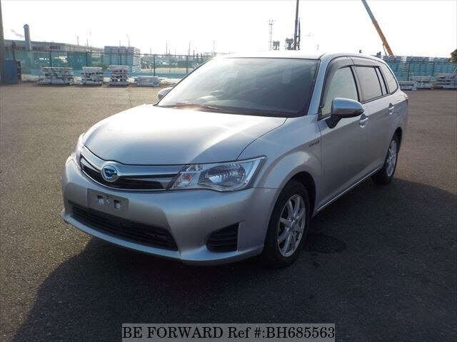 Used 2015 TOYOTA COROLLA FIELDER BH685563 for Sale