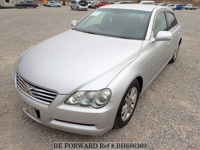 Used 2007 TOYOTA MARK X BH686369 for Sale