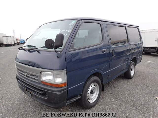 Used 1999 TOYOTA HIACE VAN BH686502 for Sale