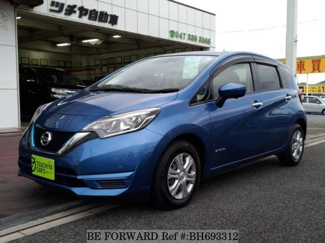 Used 2016 NISSAN NOTE BH693312 for Sale