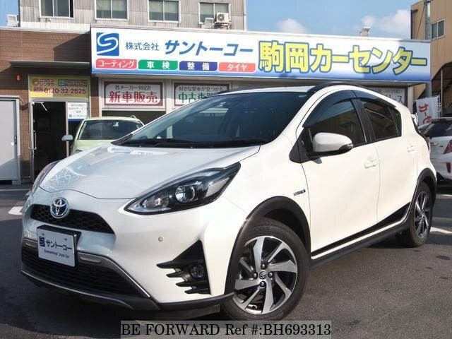 Used 2018 TOYOTA AQUA BH693313 for Sale