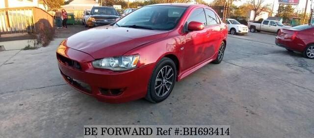 Used 2017 MITSUBISHI LANCER BH693414 for Sale