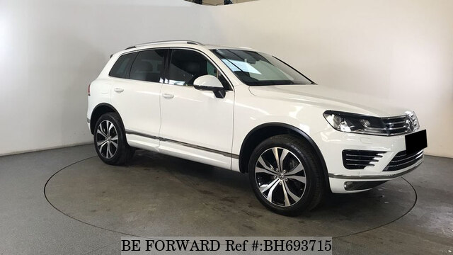 Used 2015 VOLKSWAGEN TOUAREG BH693715 for Sale
