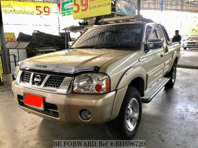 Used 2004 NISSAN FRONTIER BH696720 for Sale