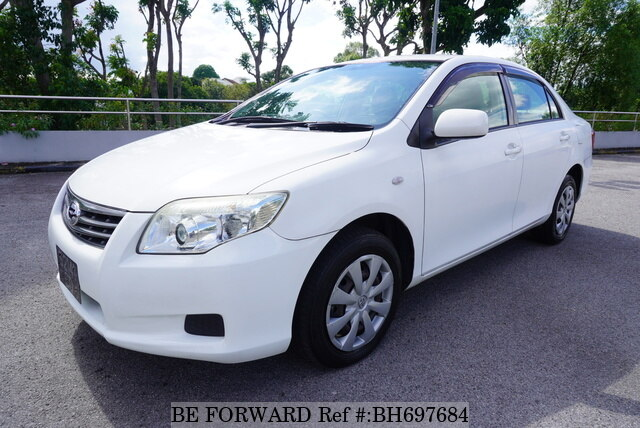 Used 2010 TOYOTA COROLLA AXIO BH697684 for Sale