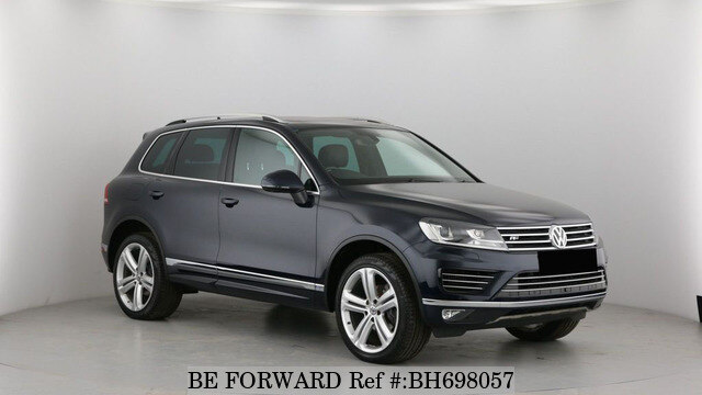 Used 2017 VOLKSWAGEN TOUAREG BH698057 for Sale