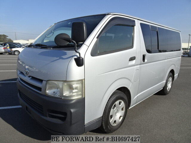 Used 2006 TOYOTA HIACE VAN BH697427 for Sale