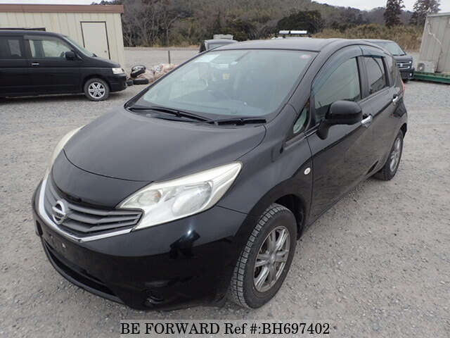 Used 2012 NISSAN NOTE BH697402 for Sale
