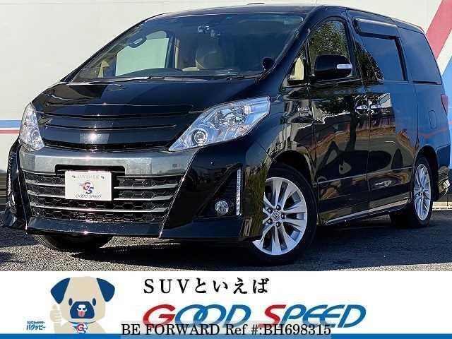 Used 2013 TOYOTA ALPHARD HYBRID BH698315 for Sale