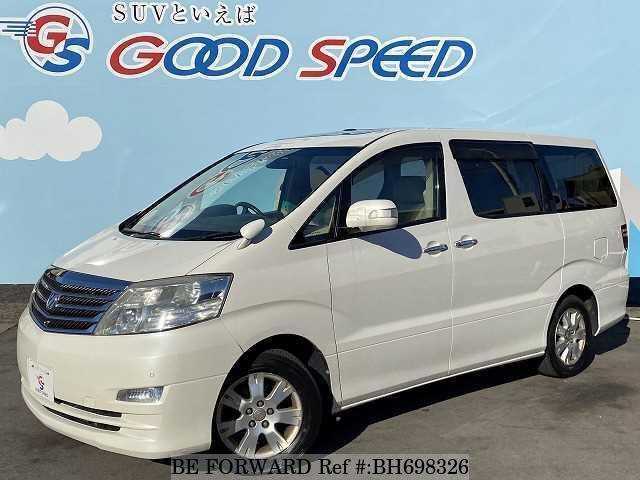 Used 2005 TOYOTA ALPHARD BH698326 for Sale
