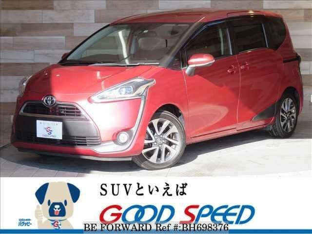 Used 2016 TOYOTA SIENTA BH698376 for Sale
