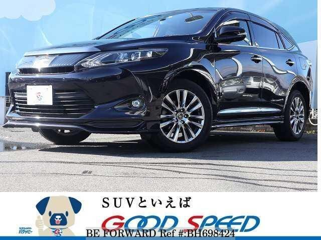 Used 2014 TOYOTA HARRIER BH698424 for Sale