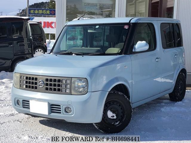 Used 2004 NISSAN CUBE BH698441 for Sale