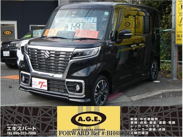 Used 2020 SUZUKI SPACIA BH698503 for Sale