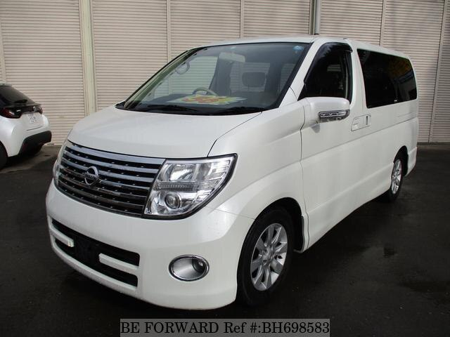 Used 2005 NISSAN ELGRAND BH698583 for Sale