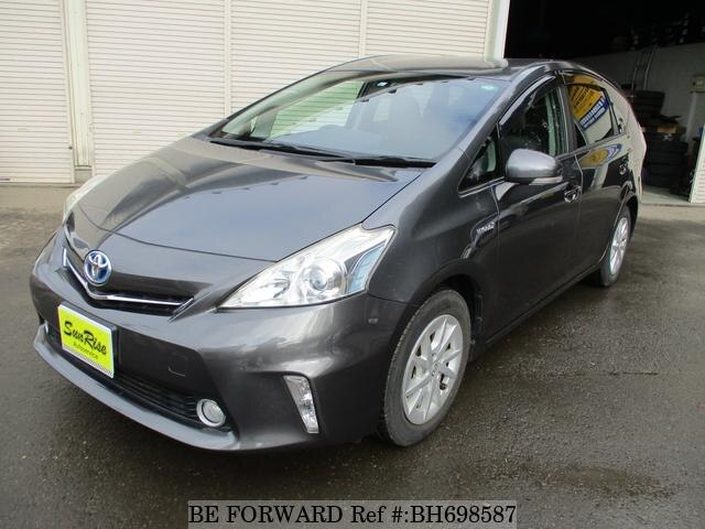 Used 2011 TOYOTA PRIUS ALPHA BH698587 for Sale