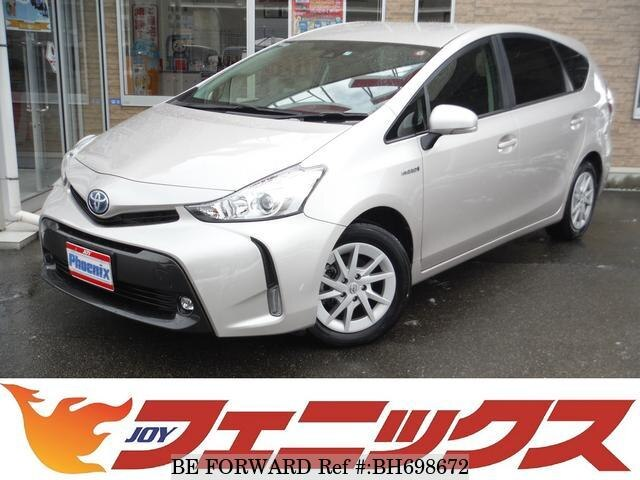 Used 2017 TOYOTA PRIUS ALPHA BH698672 for Sale