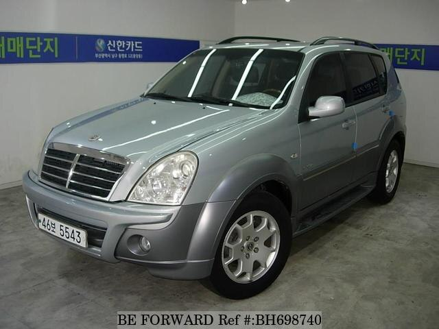 Used 2007 SSANGYONG REXTON BH698740 for Sale