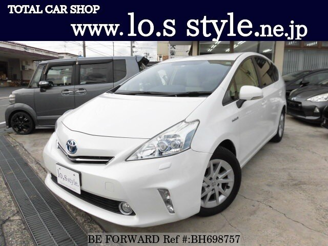 Used 2013 TOYOTA PRIUS ALPHA BH698757 for Sale