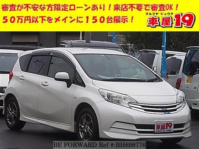 Used 2013 NISSAN NOTE BH698776 for Sale