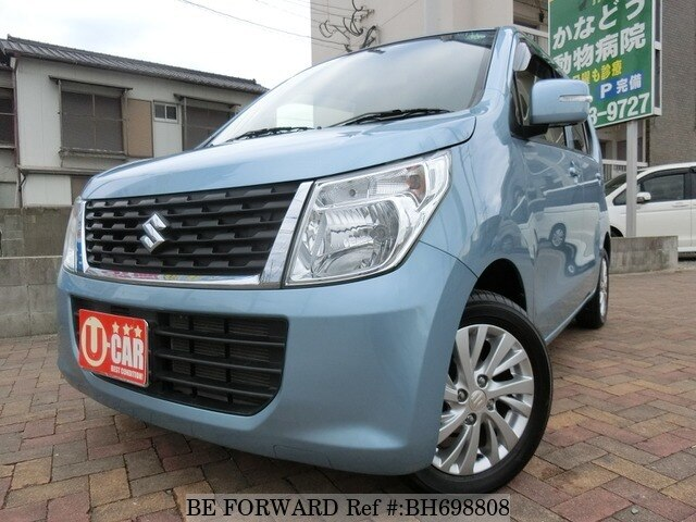 Used 2016 SUZUKI WAGON R BH698808 for Sale