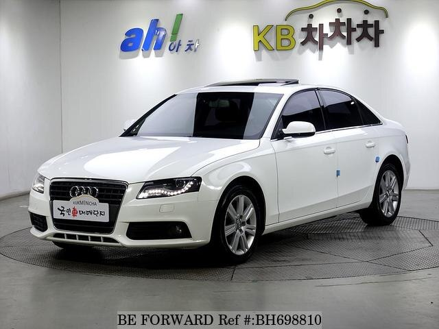 Used 2012 AUDI A4 BH698810 for Sale