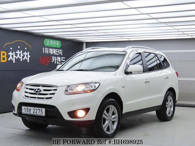 Used 2010 HYUNDAI SANTA FE BH698925 for Sale