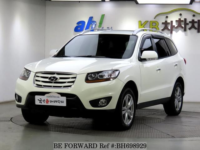 Used 2010 HYUNDAI SANTA FE BH698929 for Sale