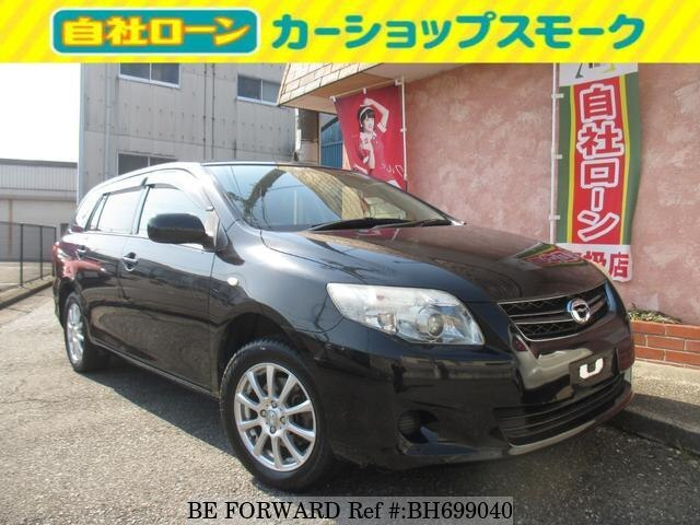 Used 2011 TOYOTA COROLLA FIELDER BH699040 for Sale